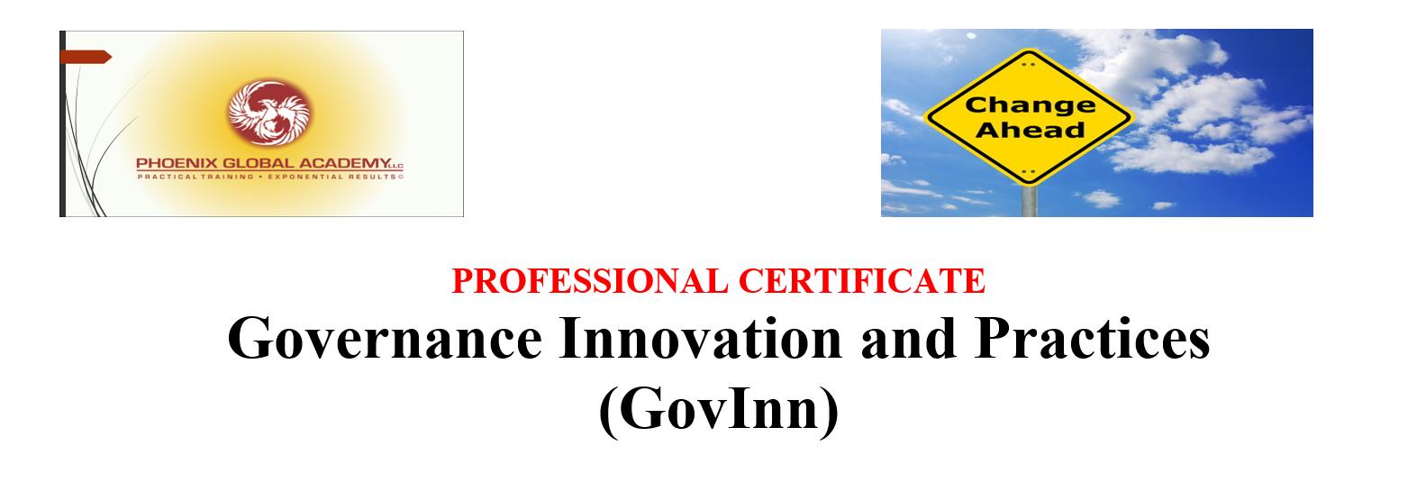 Governance Innovation and Practices (GovInn)