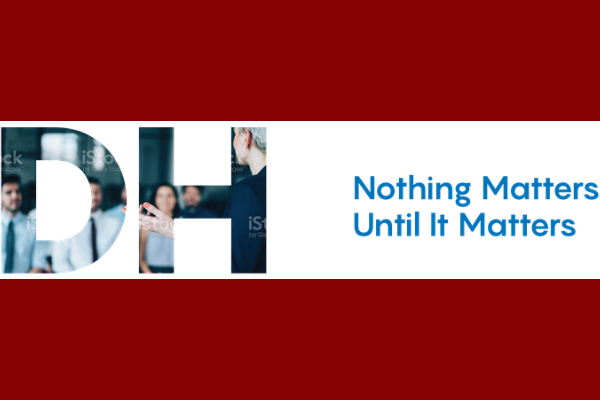 Nothing matters until it matters